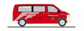 RIETZE 53638 VW T5 Bus 2010 Feuerwehr Kirchdorf Blaulichtmodell 1:87 kaufen