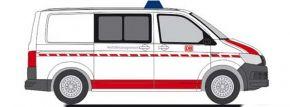 RIETZE 53716 VW T6 Bus DB Notfallmanagement Blaulichtmodell 1:87 kaufen