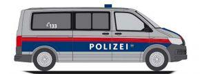 RIETZE 53740 VW T6 Bus Polizei Blaulichtmodell 1:87 kaufen