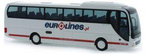 RIETZE 65556 MAN Lions Coach 2015 Eurolines Busmodell 1:87 kaufen