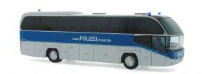 RIETZE 67134 Neoplan Cityliner 07 Landespolizei Mecklenburg - Vorpommern Blaulichtmodell 1:87 kaufen