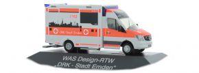 RIETZE 72046 Mercedes-Benz Sprinter Wietmarscher  RTW DRK Emden Blaulichtmodell 1:87 kaufen