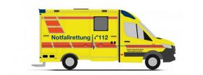 RIETZE 76260 MercedesBenz Sprinter RTW Strobel ASB Berlin Blaulichtmodell 1:87 kaufen