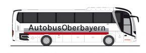 RIETZE 74825 MAN Lions Coach 2017 Autobus Oberbayern München Busmodell 1:87 kaufen
