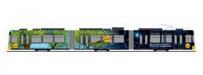 RIETZE STRA01071 GT6 MVG Mainz-Entega | Standmodell 1:87 kaufen