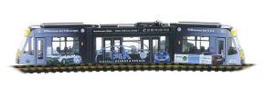 RIETZE STRA01073 Siemens Combino 3teilig Verkehrsbetriebe Nordhausen - Autohaus Krüger Modell 1:87 kaufen