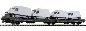 Rivarossi HR6449 Flachwagen mit Beladung Transwaggon FS | DC | Spur H0 kaufen