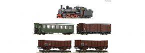 Roco 31032 Zugset Dampflokomotive 399.06 mit GmP | DCC | 5-teilig | Spur H0e kaufen