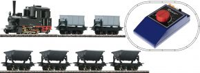 Roco 31035 Startset Felbahndampflok mit Lorenzug | DC analog | Spur H0e kaufen