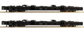 Roco 34067 2-tlg. Set Rollwagen DR | DC | Spur H0e kaufen