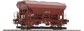 Roco 34574 Rollwagen + Güterwagen Eds DR | DC | Spur H0e kaufen