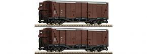 Roco 34583 2-tlg. Set Ged. Güterwagen GGm ÖBB | DC | Spur H0e kaufen