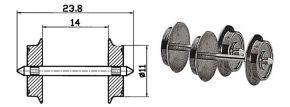 Roco 40183 Radsatz AC 11mm 2 Stk. Spur H0 kaufen