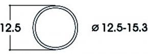 Roco 40075 Haftringsatz | Wechselstrom | 12,5 - 15,3 mm | 10 Stück | Spur H0 kaufen