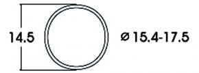 Roco 40076 Haftringsatz | Gleichstrom | 15,4 - 17,5 mm | 10 Stück | Spur H0 kaufen