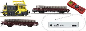 Roco 51333 z21 Digital-Startset Diesellok Sik mit Bauzug NS | DCC Sound + Dig. Kuppl. | Spur H0 kaufen
