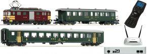 Roco 51339 z21 Zugset E-Triebwagen De4/4 mit Personenzug SBB | AC Sound | Spur H0 kaufen