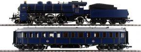 ausverkauft | Roco 61473 Zugset Dampflok Gattung S 3/6 und Salonwagen K.Bay.Sts.B. | AC Sound | Spur H0 kaufen