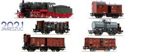 Roco 61480 Jahreszug 2021 | Dampflok G 8.2 mit Güterzug KPEV | DC analog | Spur H0 kaufen