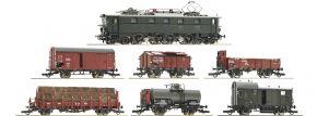 Roco 61492 Zug-Set E-Lok E 52 22 mit Güterzug DRG | DCC-Sound | Spur H0 kaufen