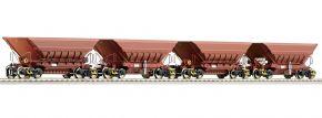 Roco 66079 4-tlg. Set: Erzwagen Master-Slave LKAB | DC | Spur H0 kaufen