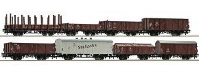 Roco 67127 Güterwagen-Set 8-teilig DR | Spur H0 kaufen