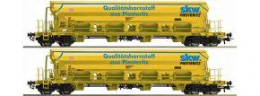 Roco 67142 Schwenkdachwagen-Set 2-tlg. DB | Spur H0 kaufen