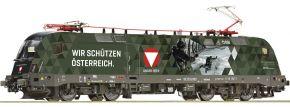 Roco 70491 E-Lok Rh 1116 Bundesheer ÖBB | DC analog | Spur H0 kaufen