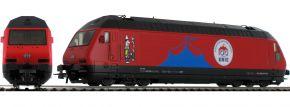 Roco 70656 E-Lok Re 460 Circus Knie SBB | DC analog | Spur H0 kaufen