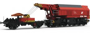 Roco 73036 Eisenbahndrehkran EDK 750 ÖBB | DCC-Sound | Spur H0 kaufen