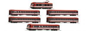 Roco 73058 6-tlg. E-Triebzug Rh 4010 ÖBB | DC analog | Spur H0 kaufen