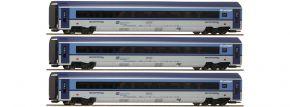 Roco 74068 Personenwagen-Set 3-tlg. Railjet CD | DC Digital | Spur H0 kaufen