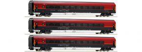 Roco 74086 3-tlg. Wagenset Railjet ÖBB | DC | Spur H0 kaufen