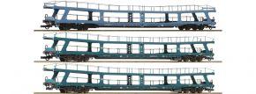 Roco 74097 3-tlg. Set Nr. 3 Autoreisezug Christoforus-Express DB | DC | Spur H0 kaufen