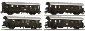 Roco 74102 Donnerbüchsen-Set 4-tlg. DRG | DC | Spur H0 kaufen