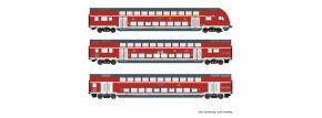 Roco 74150 Doppelstockwagen DB | 3-tlg | DC | Spur H0 kaufen