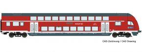 Roco 74173 Doppelstock-Steuerwagen DB AG | DC | Spur H0 kaufen
