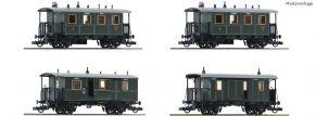 Roco 74187 4-tlg. Set Personenzug K.Bay.Sts.B. | DC | Spur H0 kaufen