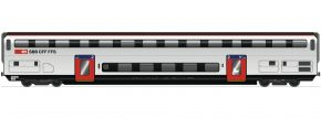 Roco 74495 Doppelstockwagen 2.Kl. B IC 2020 SBB | DC | Spur H0 kaufen
