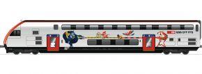 Roco 74499 Doppelstock-Steuerwagen 2.Kl. Bt IC 2020 SBB | AC-Digital | Spur H0 kaufen
