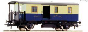 Roco 74508 Zahnrad-Gepäckwagen Alpspitz-Bahn | DC | Spur H0 kaufen