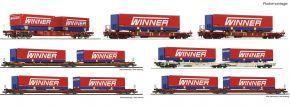 Roco 75886 7-tlg. Wagenset Spedition Winner | DC | Spur H0 kaufen