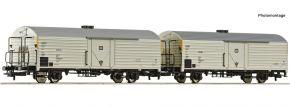 Roco 76034 2-tlg. Set Kühlwagen Ibbks 398 DB | DC | Spur H0 kaufen