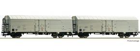 Roco 76035 2-tlg. Set Kühlwagen Ibbhqss DR | DC | Spur H0 kaufen