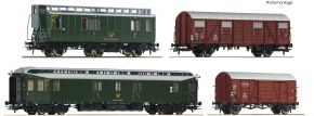 Roco 76036 4-tlg. Set Postzug DB | DC | Spur H0 kaufen