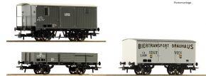 Roco 76037 3-tlg. Set Güterzug kkStB | DC | Spur H0 kaufen