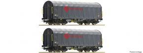 Roco 76039 2-tlg. Set Schiebeplanwagen Shimmns ermewa | DC | Spur H0 kaufen