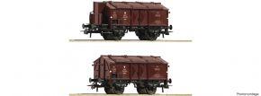 Roco 76043 2-tlg. Set Klappdeckelwagen K15 PKP | DC | Spur H0 kaufen