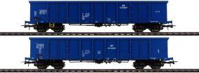 Roco 76044 2-tlg. Set Offene Güterwagen Eaos PKP | DC | Spur H0 kaufen