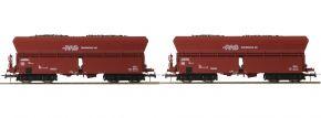 Roco 76059 2-tlg. Set 2 Selbstentladewagen RAG | DC | Spur H0 kaufen